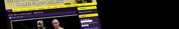 Stevie B's Gym website