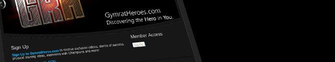 Gymrat Heroes membership website