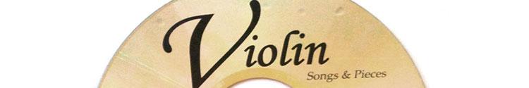 Violin audio CD replication