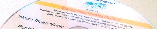 Drumatised audio CD replication